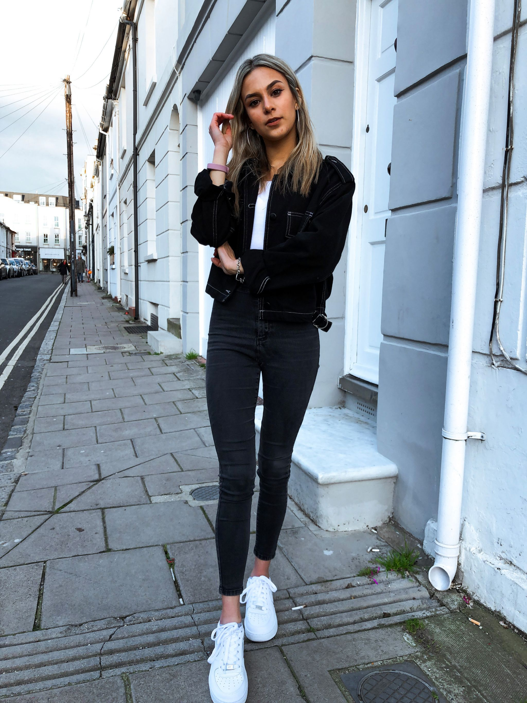 yasmin stefanie brighton street style topshop black denim joni jeans australian open hopman cup roger federer
