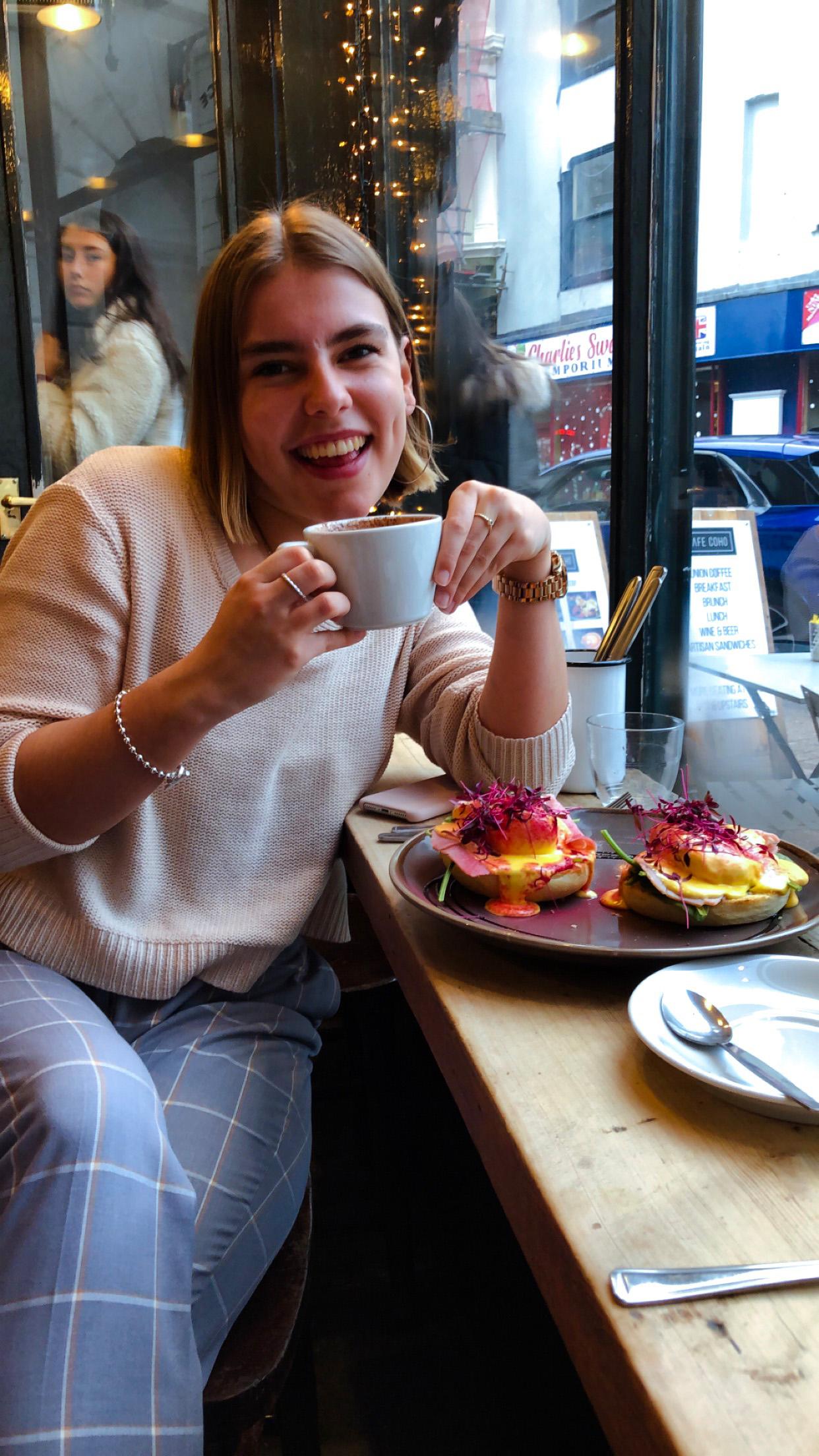 yasmin stefanie jenni roberts brighton hove brunch cafe coho